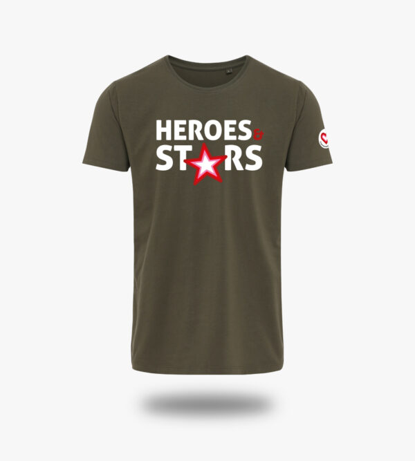 ed48d096d Heroes & Stars T-shirt (Dame)